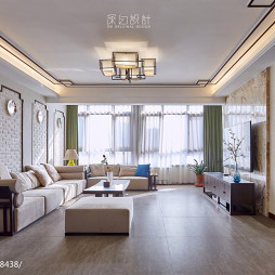 休閑中式風格客廳設計