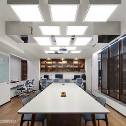 本生设计办公空间会议室装修
