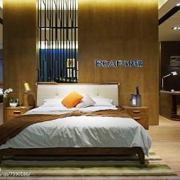 家具工厂展厅卧室设计