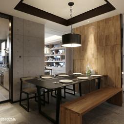 家装现代风格餐厅装修案例图