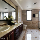 欧式别墅卫浴设计案例