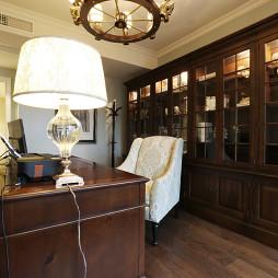 欧式风格别墅书房装修