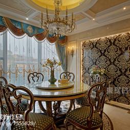 华丽欧式风格别墅餐厅设计