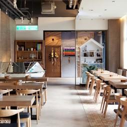 原木餐厅设计