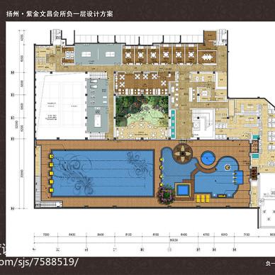会所室内设计方案_2585657