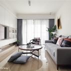 休闲现代风格客厅设计