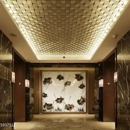 文华东方酒店吊顶设计
