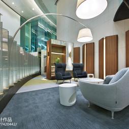 金融中心贵宾区装饰图