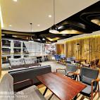 商场咖啡厅室内布置