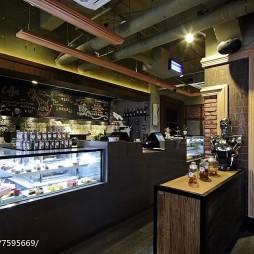 良品咖啡厅吧台装修