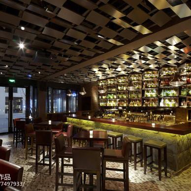 褐石酒吧室内设计