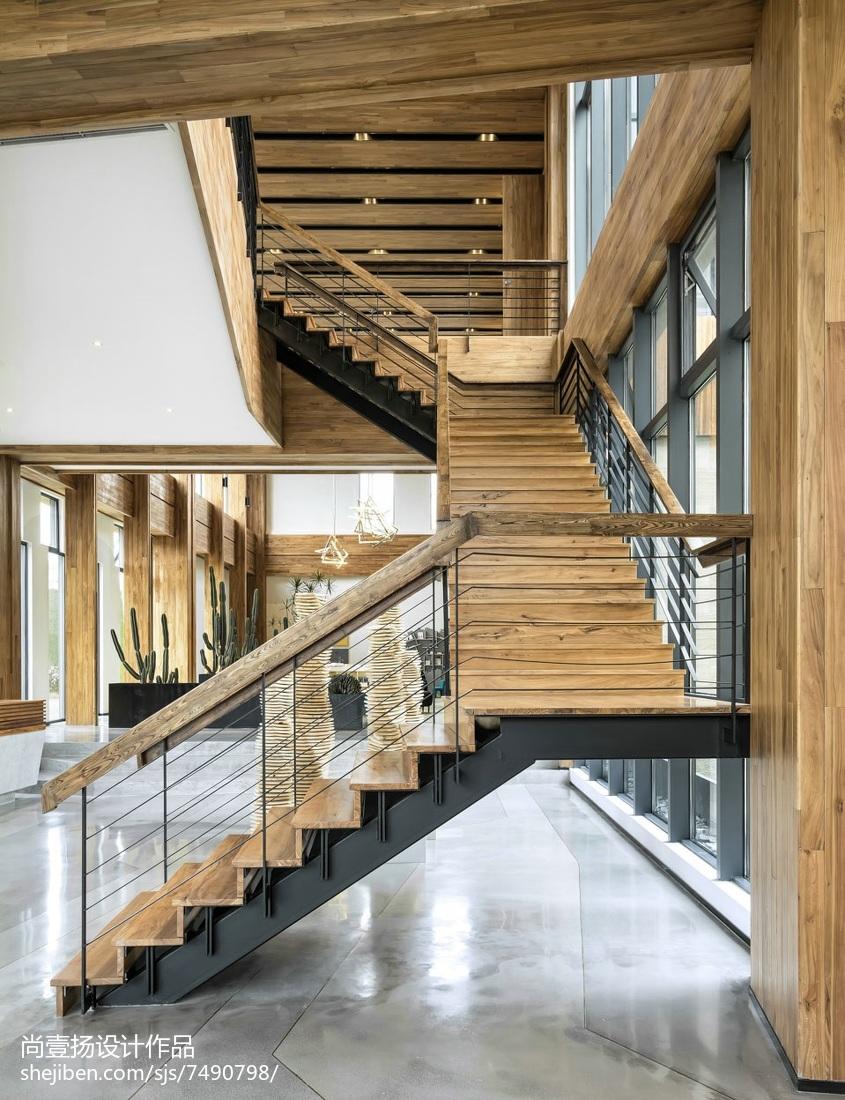 江山越营销中心楼梯设计