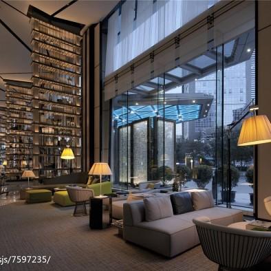 王彦智设计作品-通盈中心洲际酒店灯光设计