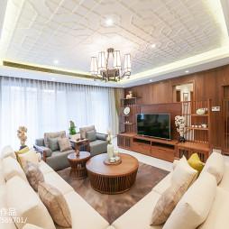 精致中式风格客厅设计
