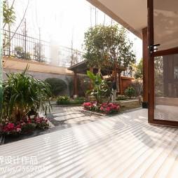 中式风格别墅花园装修