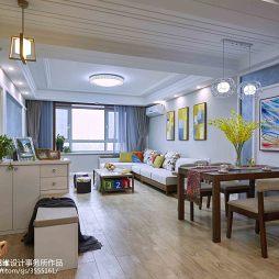 明亮现代风格客厅设计