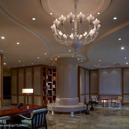 酒店式公寓大厅设计