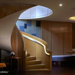 酒店式公寓楼梯设计