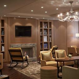 酒店式公寓休闲区装修
