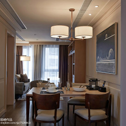 酒店式公寓餐厅装修