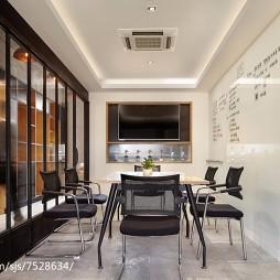 双面办公空间会议室设计