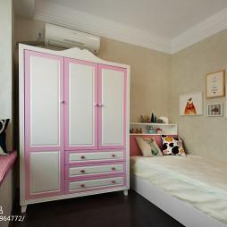简约现代风格儿童房布置