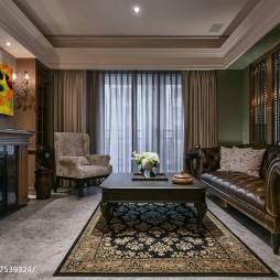 沉稳欧式风格客厅设计