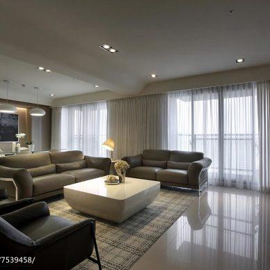 大气现代风格家居客厅效果图