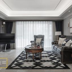 简练现代风格客厅设计案例