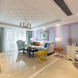 家居法式风格客厅装修