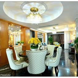 豪华现代风格餐厅设计大全