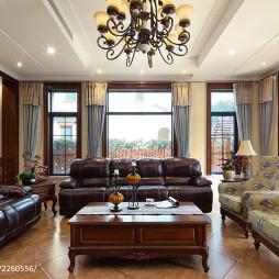 欧式风格华丽客厅设计