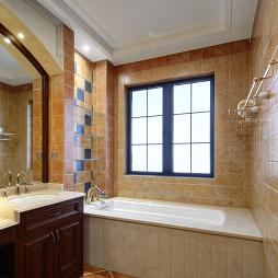 华丽欧式风格卫浴设计