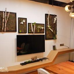 美诺新馆电视背景墙设计