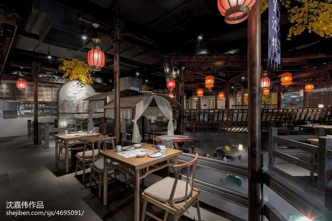 菜根小厨餐厅就餐区设计