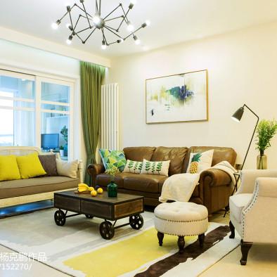 活泼美式风格客厅装修