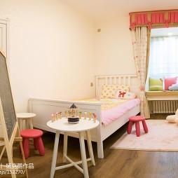 小清新美式儿童房装修