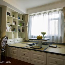 创意美式书房装修案例