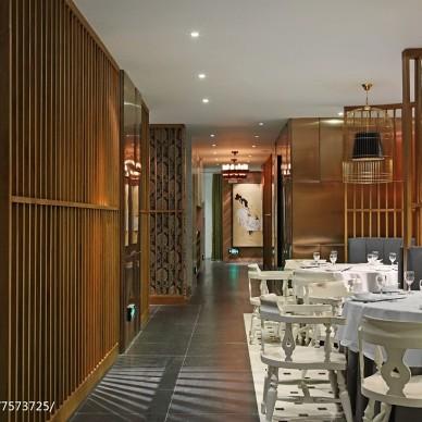 味澜客餐厅设计效果图