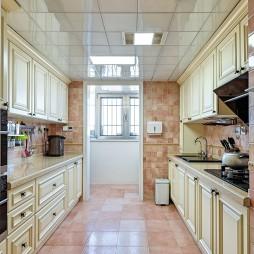 自然美式二居室厨房设计