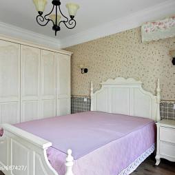 素净田园风格卧室装修