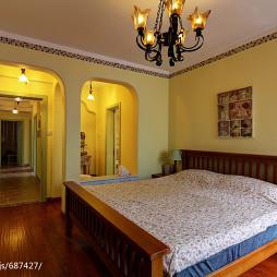 地中海风格四居室卧室装修