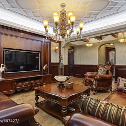 古典美式客厅设计大全
