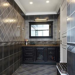 美式别墅卫浴装修