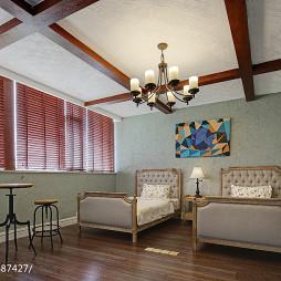 大气美式卧室设计案例