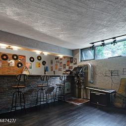 现代美式风格地下室设计