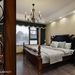 美式乡村风格卧室装修大全