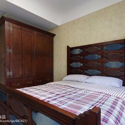 美式乡村风格卧室布置