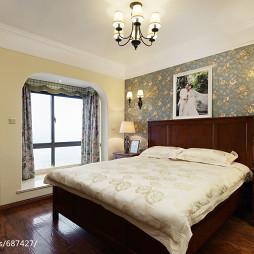 美式乡村风格卧室设计案例