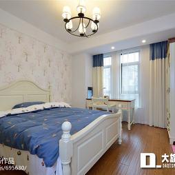 家居美式风格卧室装修